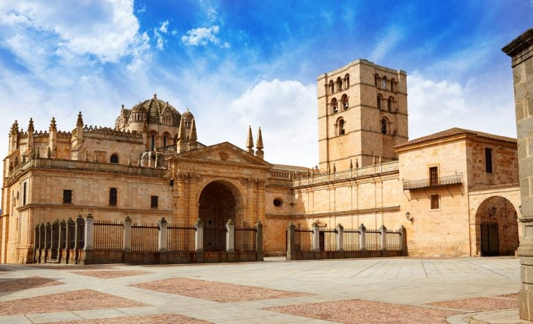 Visitamos la preciosa catedral de Zamora