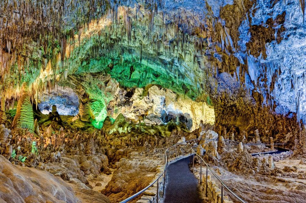 Cavernas Karlsbad en Estados Unidos