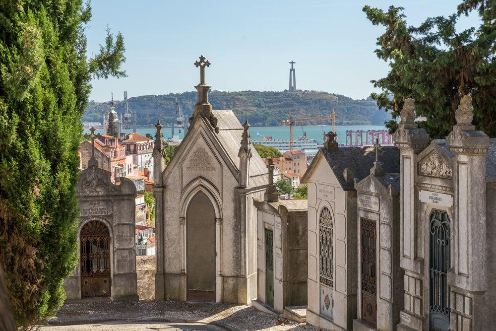 Cementerio de Prazeres en Lisboa