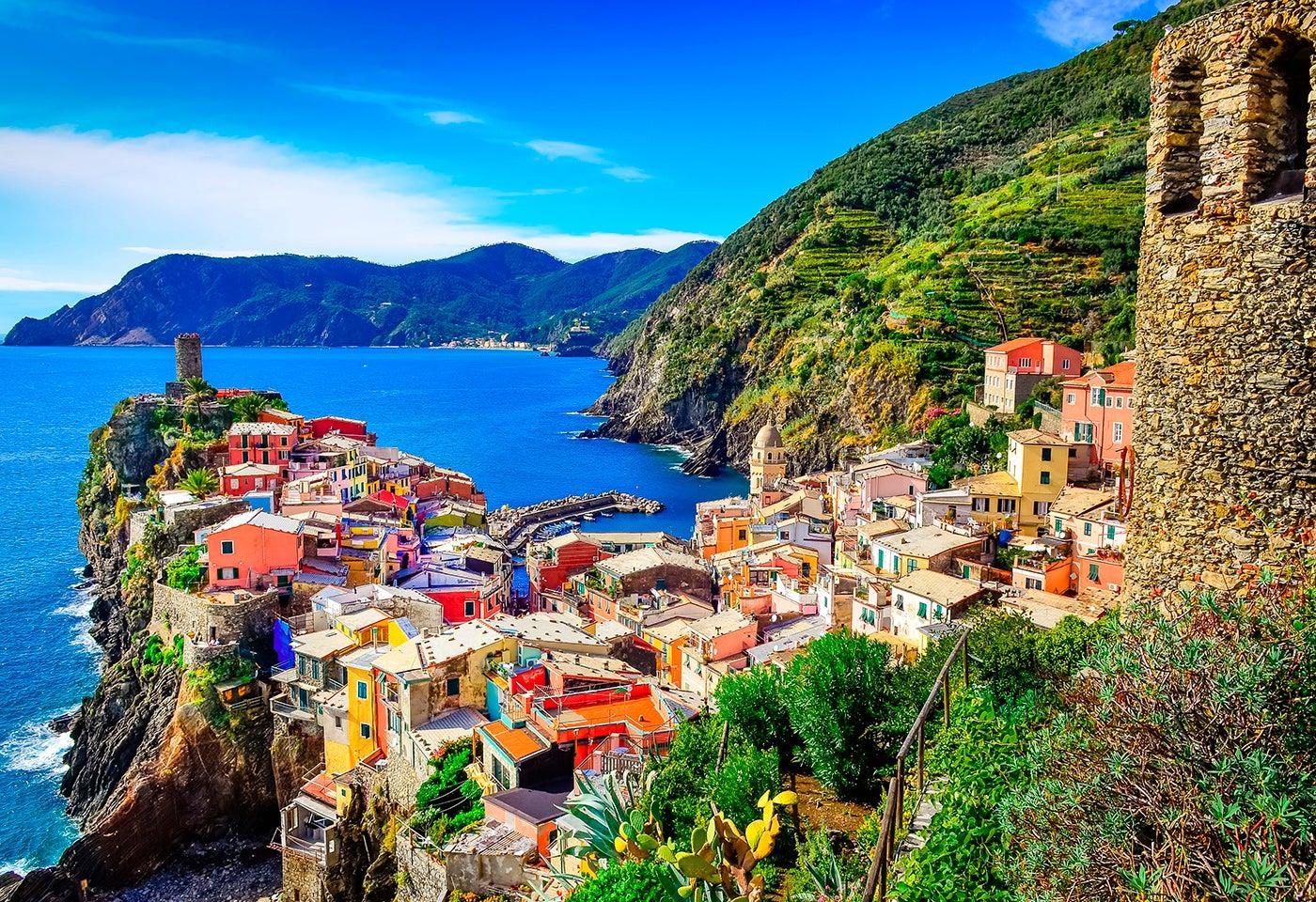 Europa en colores: Vernazza