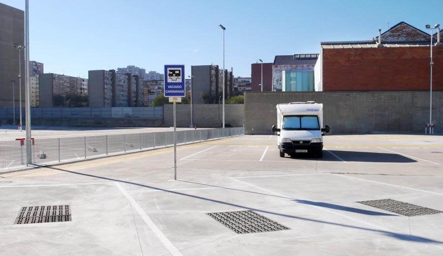 Aparcar caravanas en Barcelona: citystop