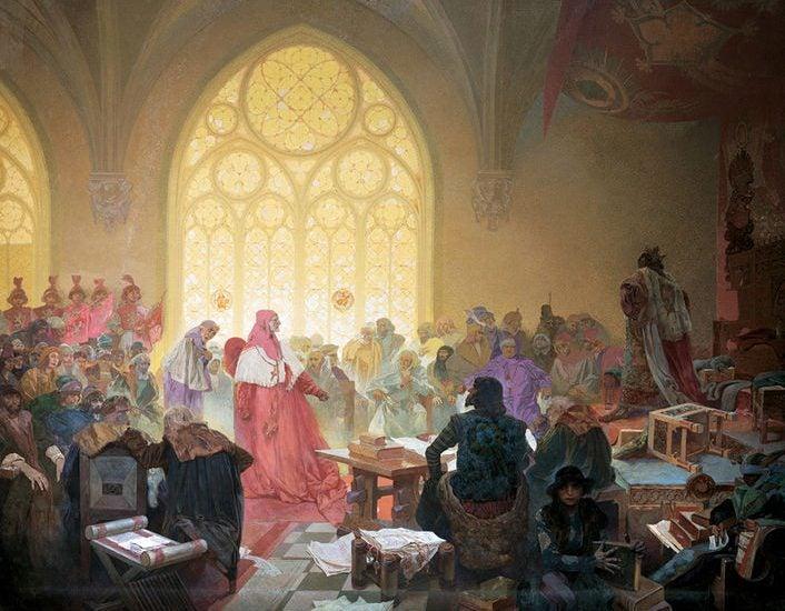 Épica Eslava de Alphonse Mucha