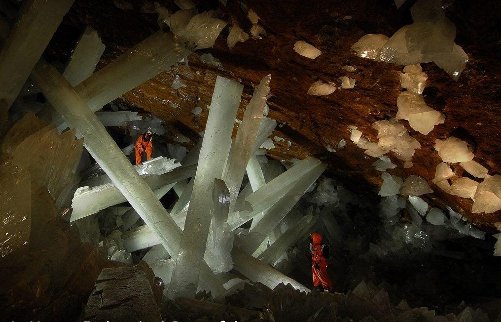 Cuevas de Naica en México