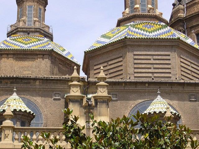 Detalle del cimborrio de la basílica