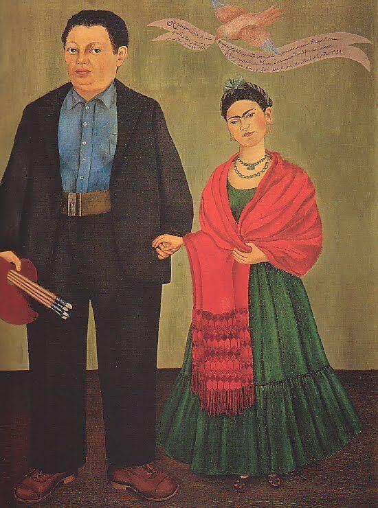 """""""Diego y Frida"""" de Frida Kahlo"""