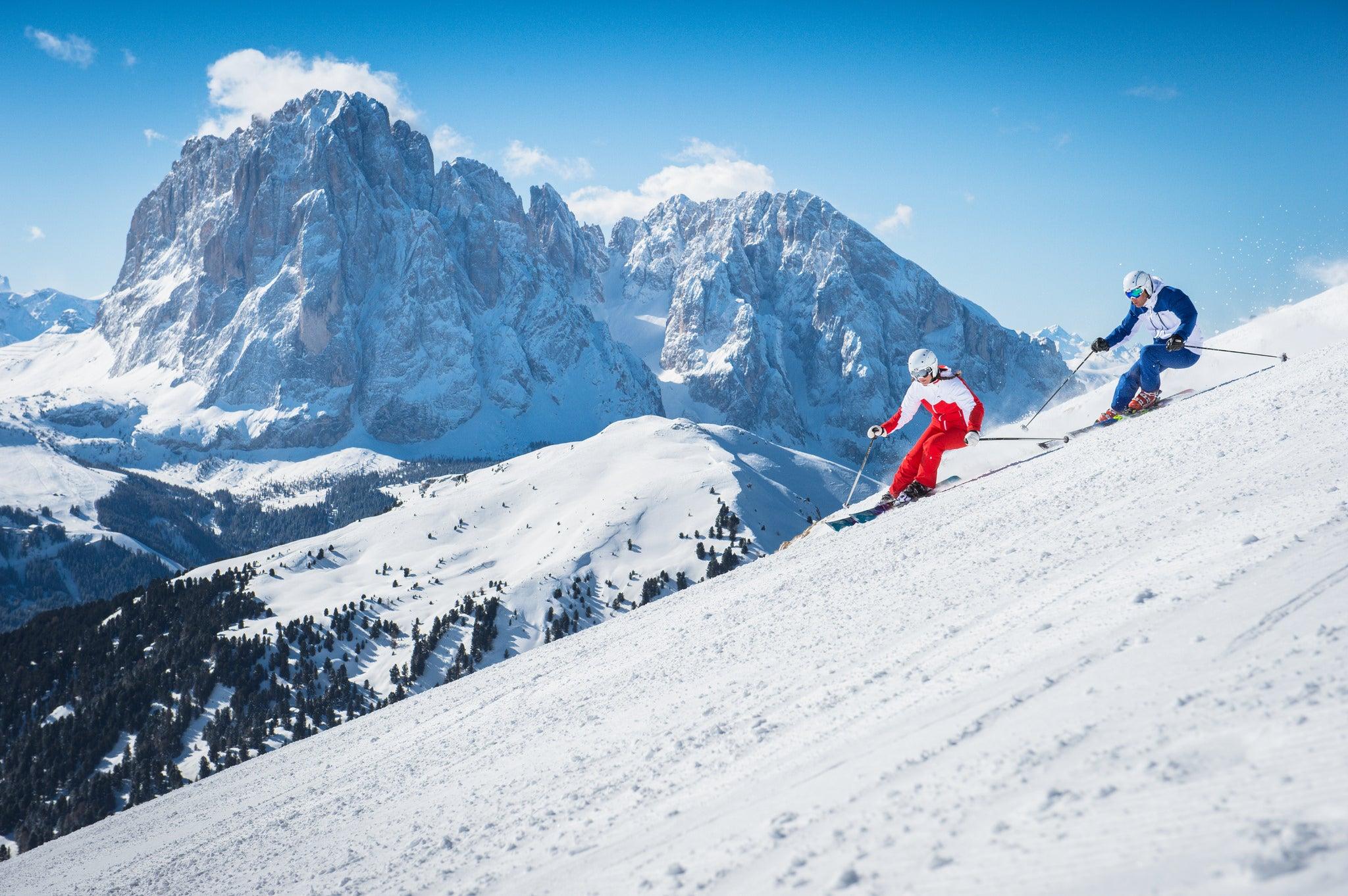Dolomiti Superski, una de las estaciones de esquí más grandes