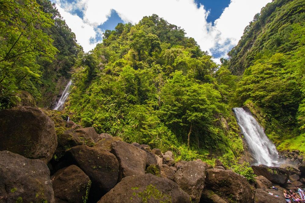Dominica en el Caribe