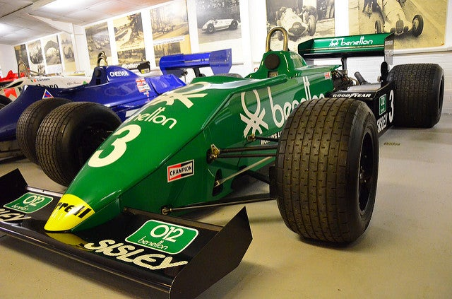 Museos de coches, Donington Grand Prix Collection