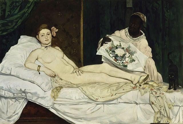 Olympia de Edouard Manet