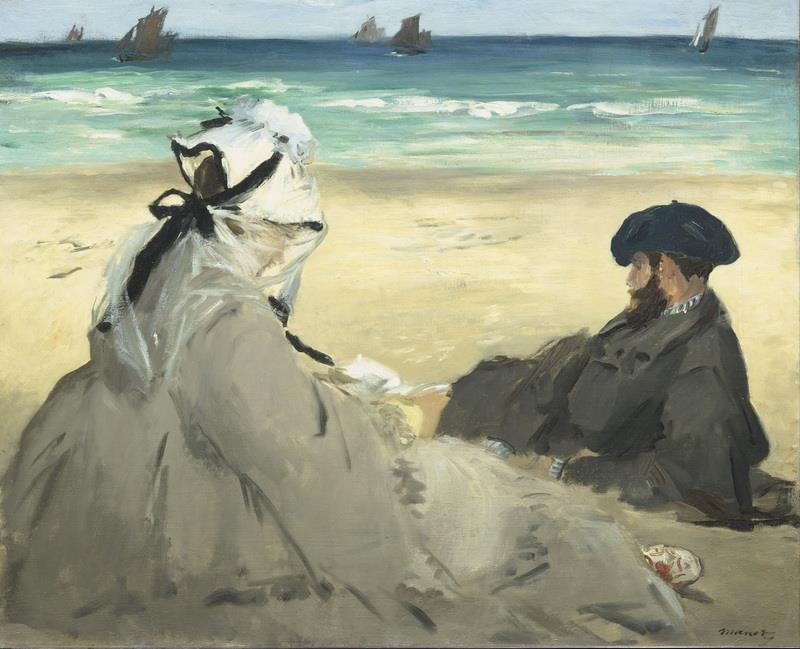 En la playa, de Maet