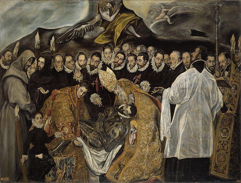 El entierro del conde de Orgaz de El Greco