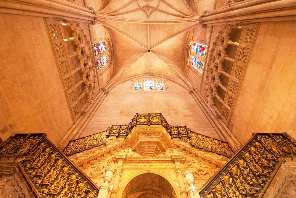 Escalera Dorada en la catedral de Burgos