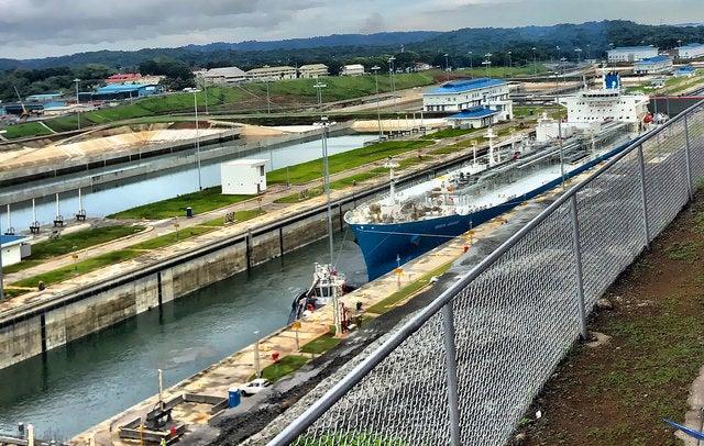Esclusas de Agua Clara en el Canal de Panamá