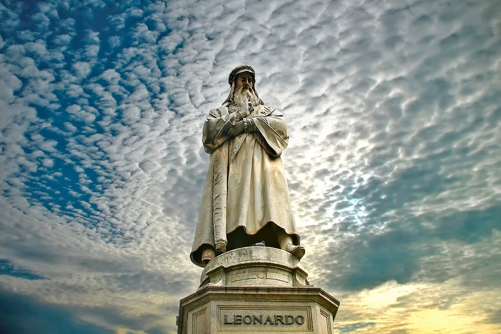 Dos lugares de Italia para admirar la obra de Leonardo da Vinci