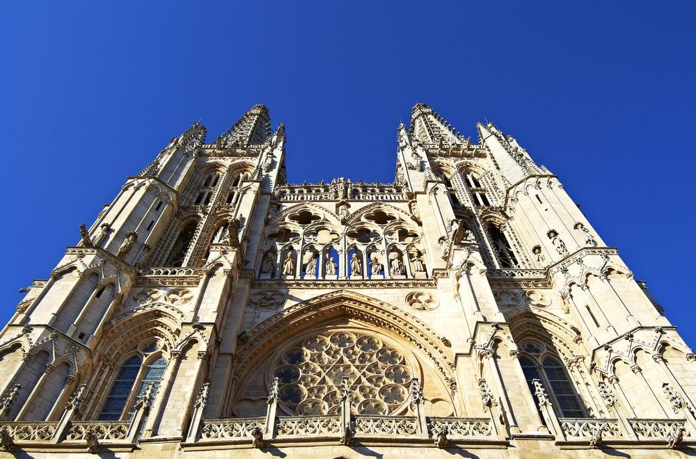 Fachada de Santa María de la catedral de Burgos