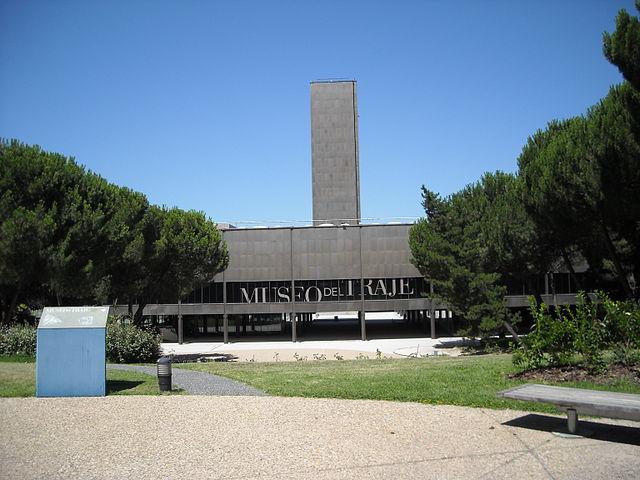 FAchada del Museo del Traje de Madrid