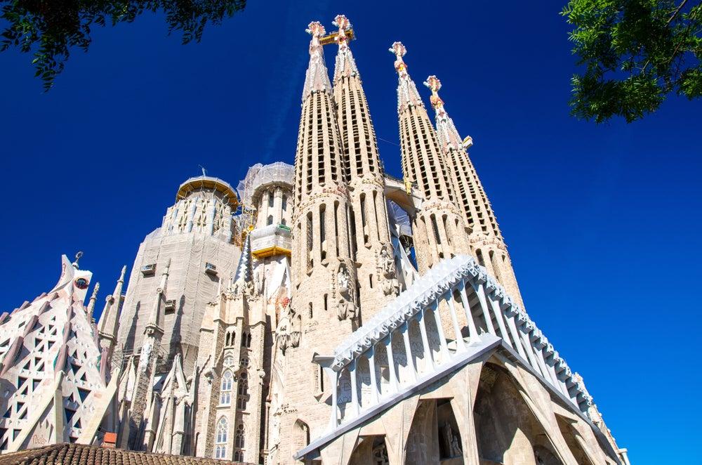 Sagrada Familia de Barcelona, una de las iglesias más impresionantes