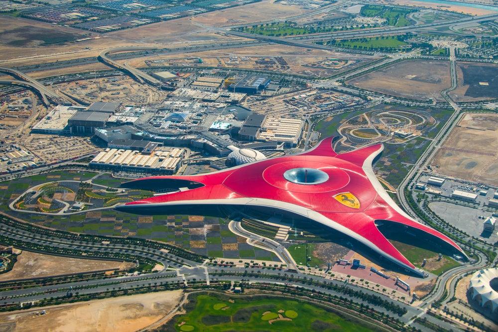 Ferrari World Park en Abu Dhabi