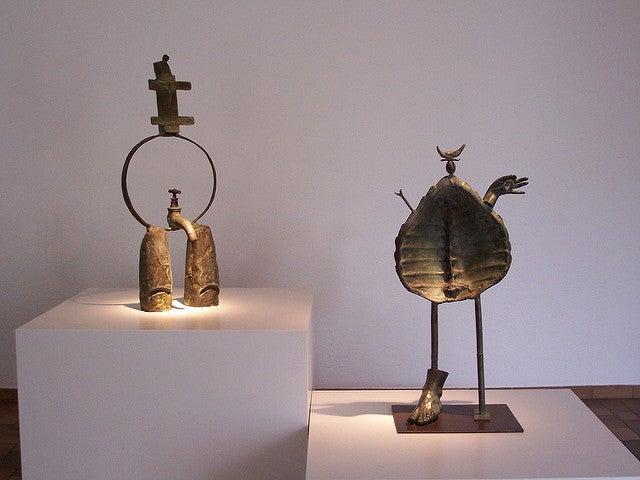 Obrs en la Fundación Joan Miró