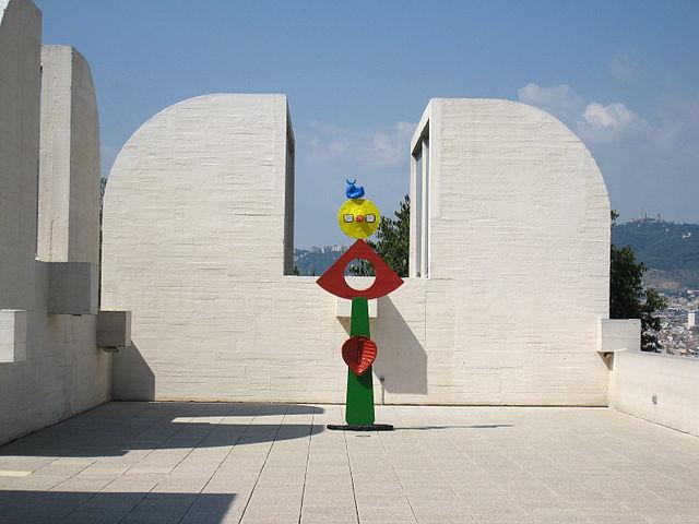 Obra en la Fundación Joan Miró