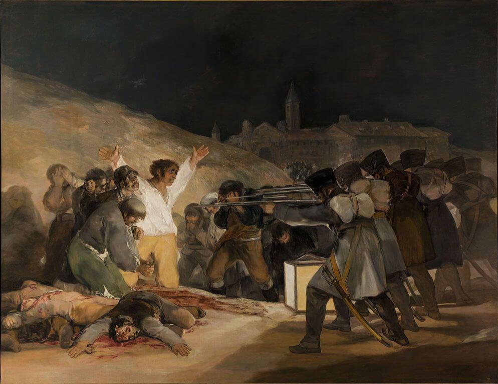 """""""Fusilamientos del 3 de mayo"""" de Francisco de Goya"""