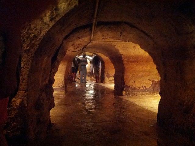 Galerías romanas en Lisboa