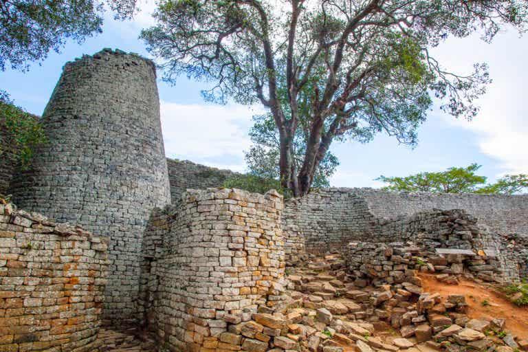 La piedra precolonial de África, el Gran Zimbabue
