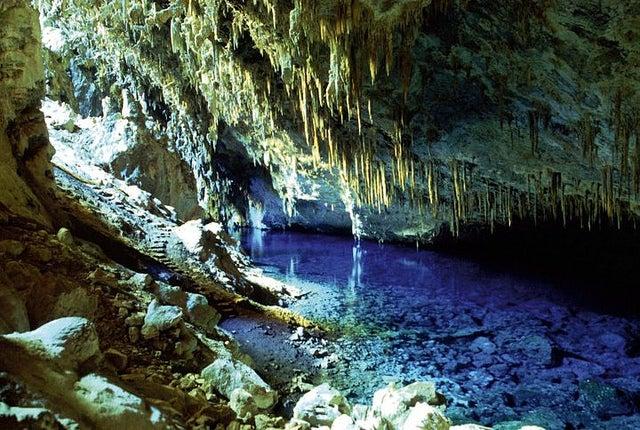 Gruta do Lago Azul en Brasil