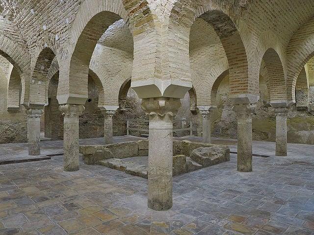 Baños árabes en Jaén