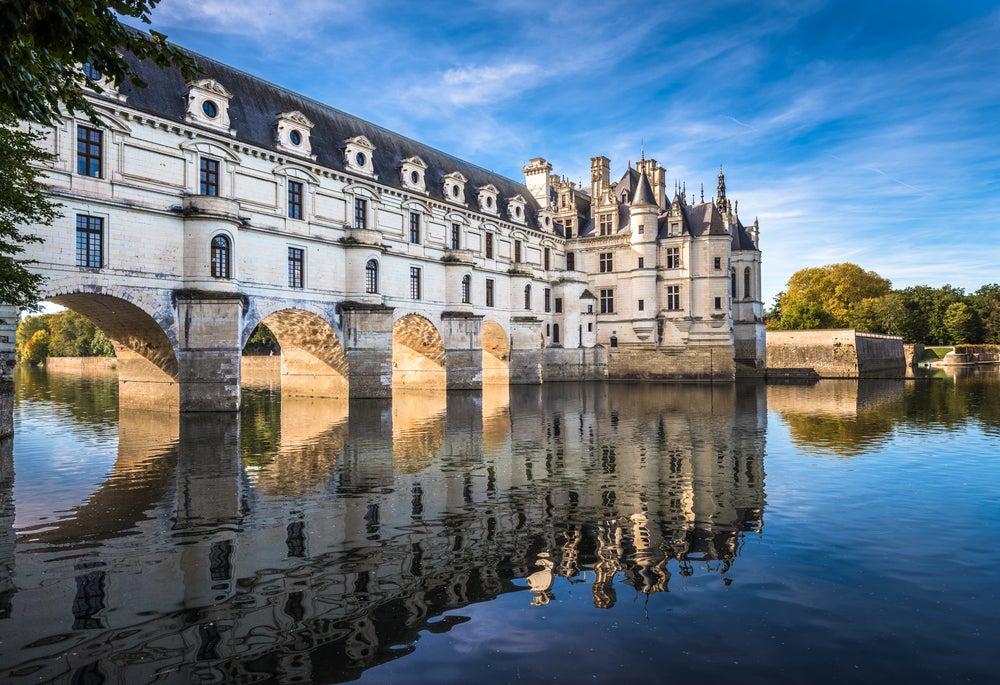Castillo de Chenonceau ene l valle del Loira