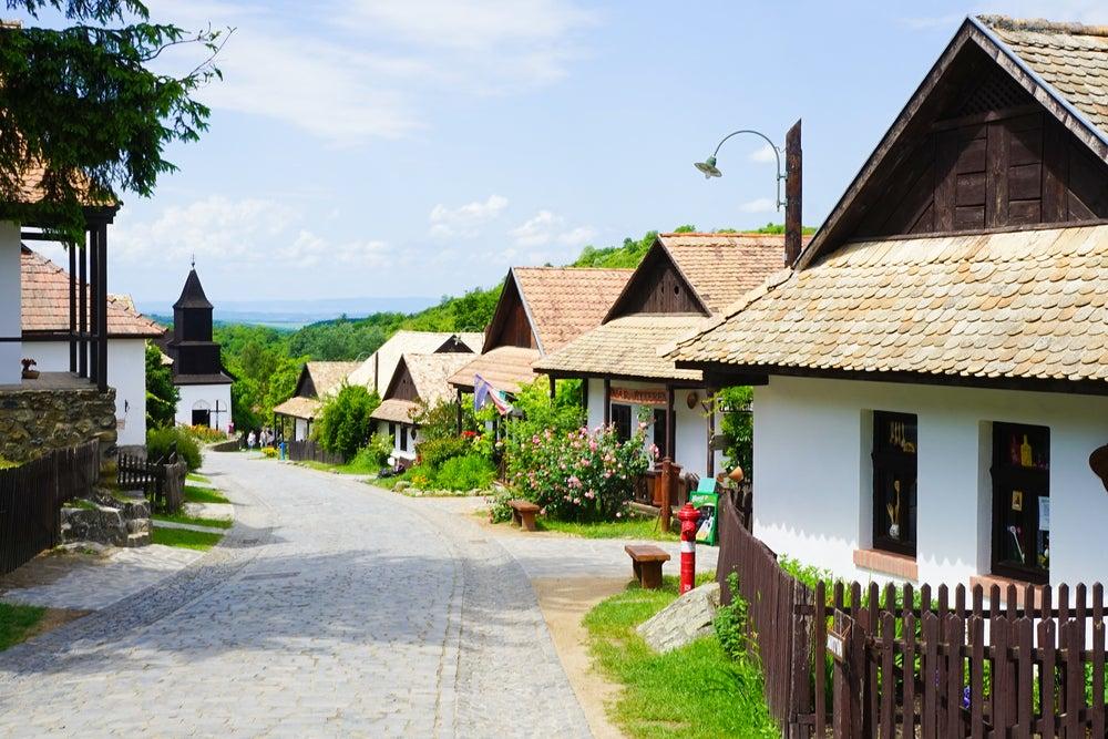 Holloko en Hungría