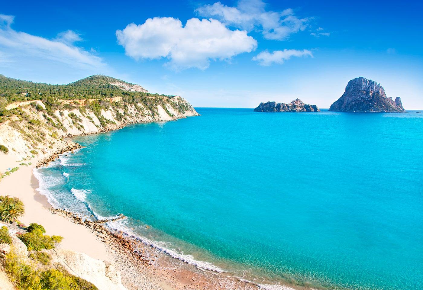 Es Vedra en la isla de Ibiza