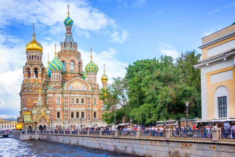 La iglesia de la Sangre Derramada, un lugar clave de la historia rusa