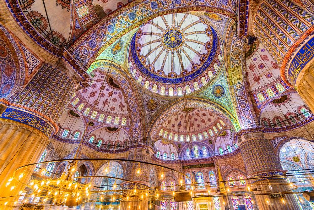 Mezquita Azul, una de las maravillas de Estambul