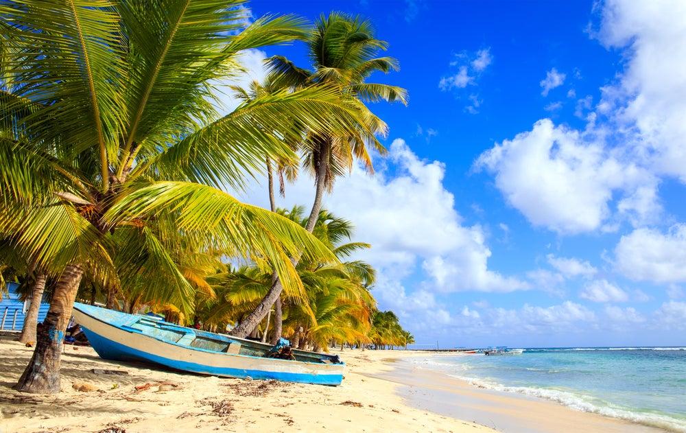 Playa en la isla Saona