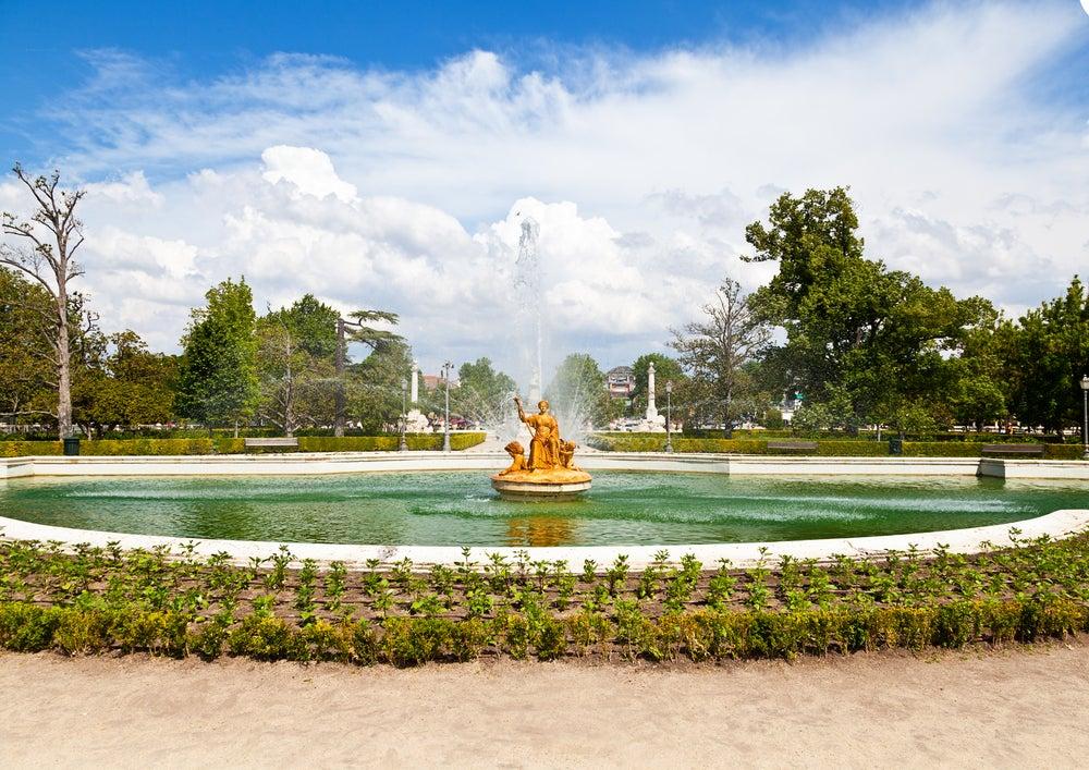 Jardín del Parterre, uno de los jardines del palacio de Aranjuez