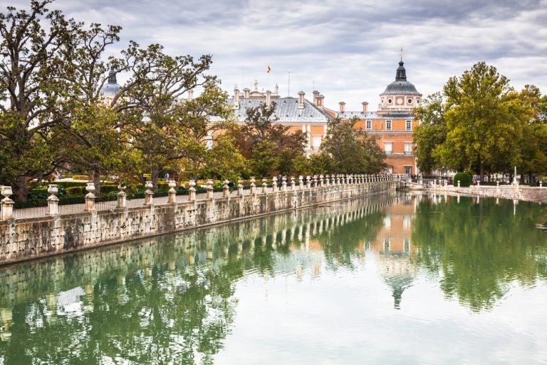 Damos un paseo por los jardines del Palacio de Aranjuez