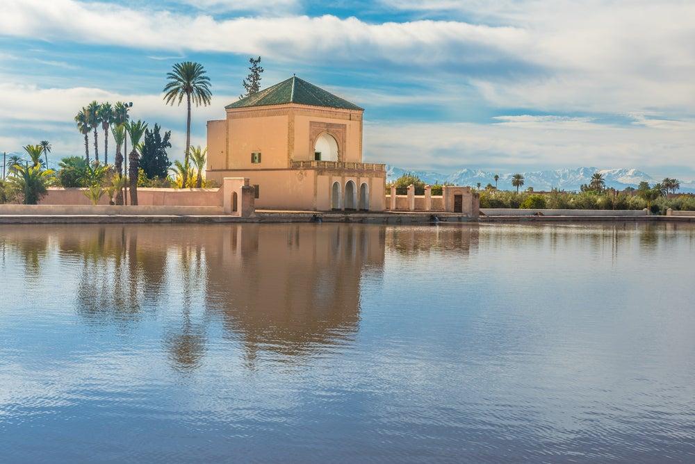 Jardines de Menara, parte del encanto de Marrakech