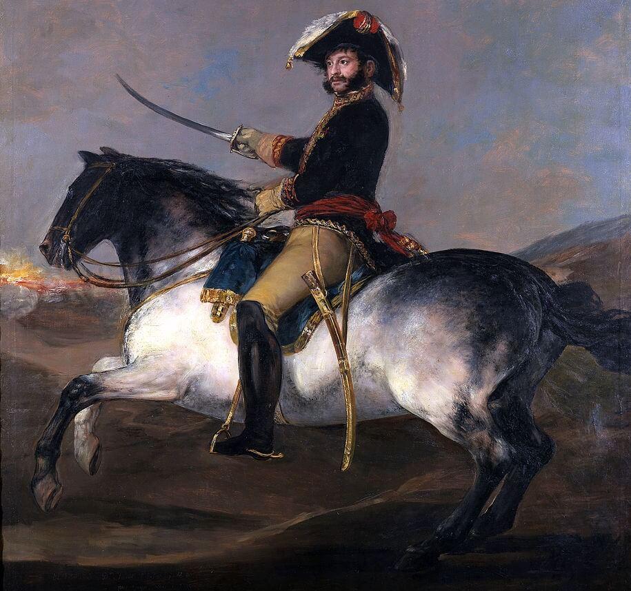 Retrato ecuestre de Palafox de Francisco de Goya