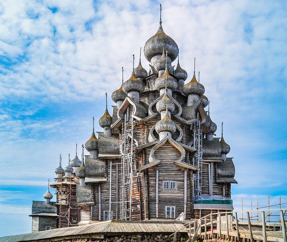 Iglesia de la Trasfiguración en Kizhi Pogost