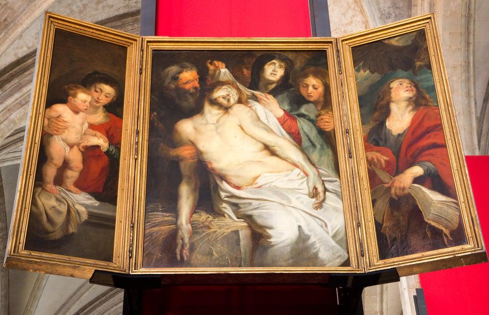 La lamentación de Rubens