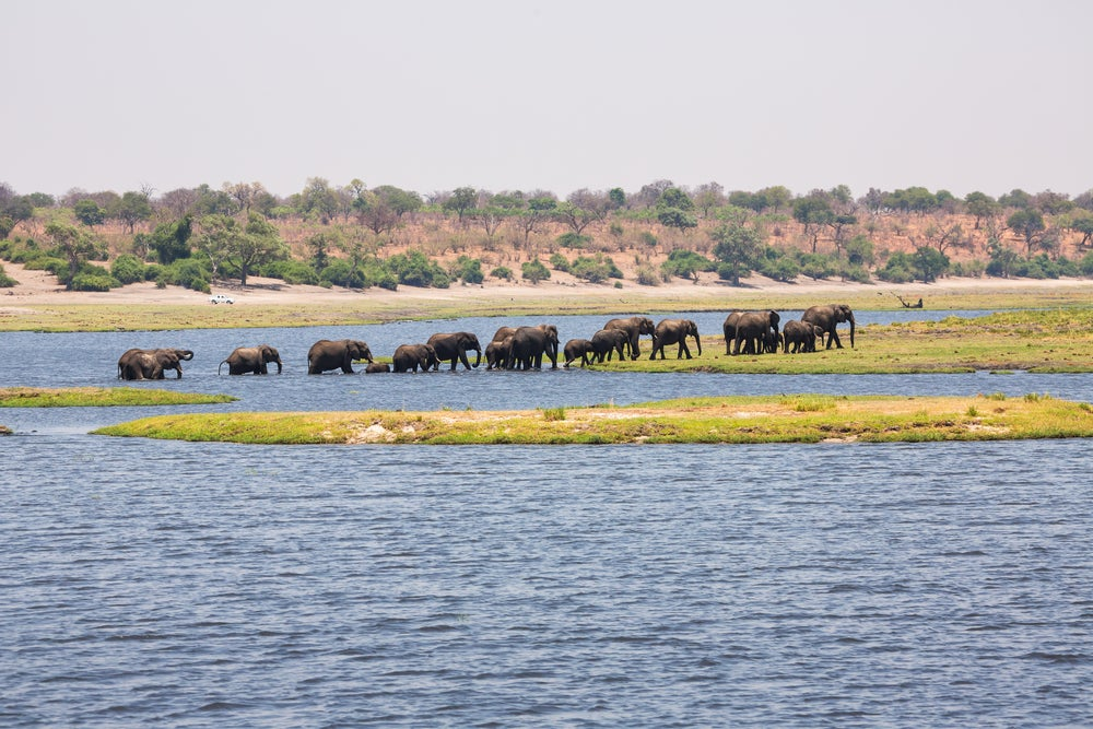 Lago Chad en Nigeria