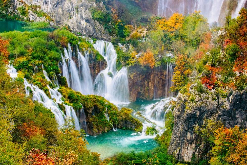 Cascadas de Europa: Lagos de Plitvice en Croacia