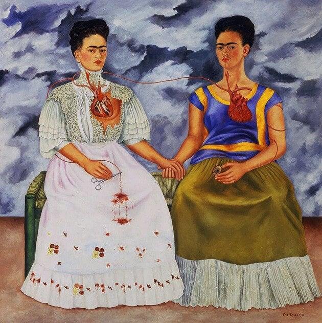 """""""Las dos Fridas"""" de Frida Kalho"""