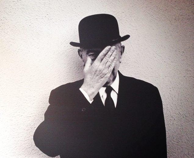 Obra del Museo René Magritte