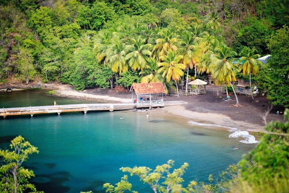 Martinica en el Caribe