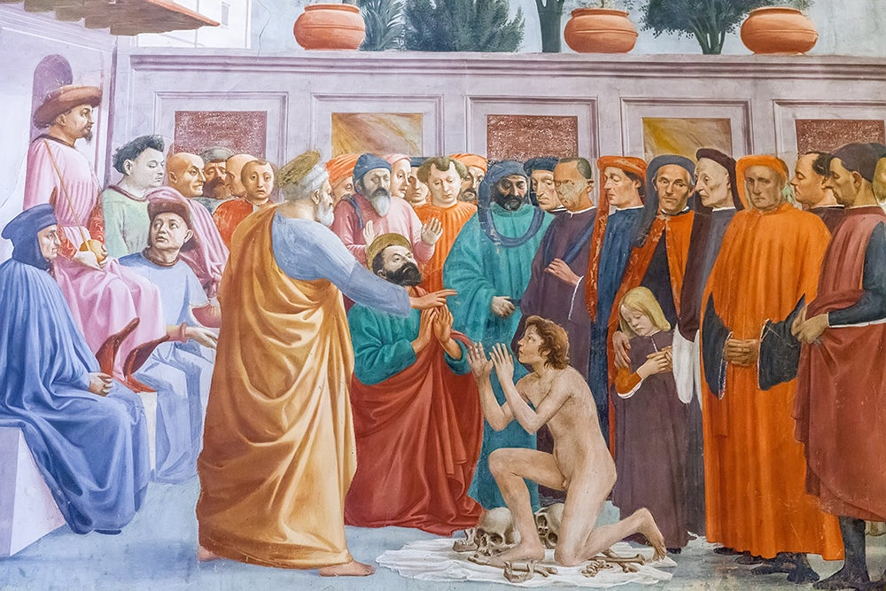 Frescos de Masaccio en la Capilla Brancacci