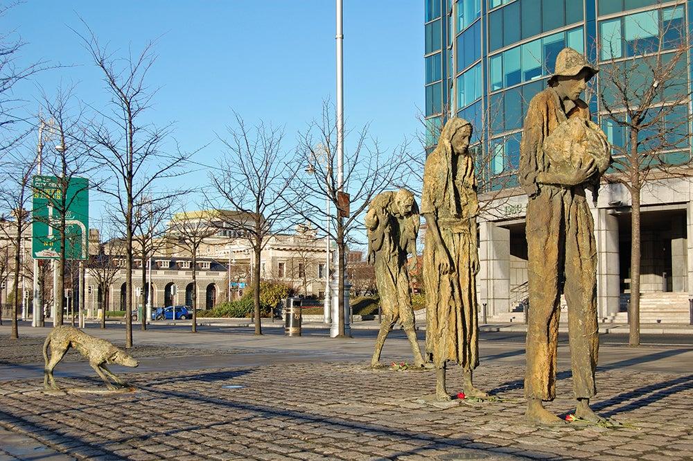 Memorial de la Hambruna en Dublín