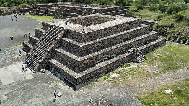 Visitar Teotihuacán, vista de la ciudad