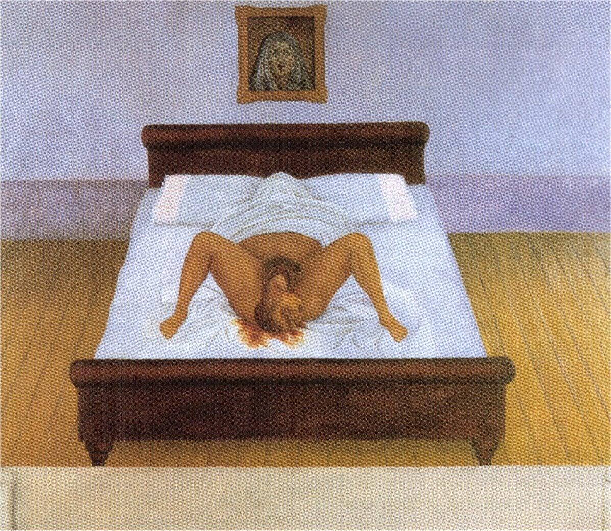 """""""Mi nacimeinto"""" de Frida Kahlo"""